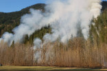 Wildfire in upper Squamish Valley grows to 15 hectares