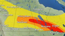 Prairies: Another strong storm, tornado threat through Thursday