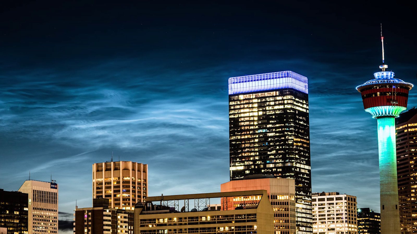 Night-shining clouds over Calgary: What's the cause of this spectacular sight?