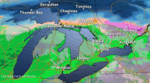 Ontario: Next storm shows distinct dividing line between rain, heavy snow