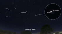See bright Venus paired with the Pleiades star cluster this weekend