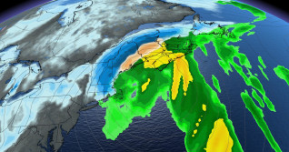 Sluggish system finally exits the East Coast, eyes on big weekend storm
