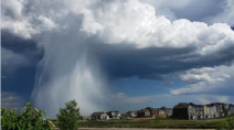 MUST SEE: Hail shaft, severe storms stun Albertans
