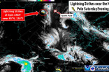 Lightning crackles over North Pole in very rare storm