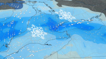Snow totals nudge up as looming storm approaches southern Ontario