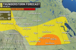 Prairies: Severe storms close out Canada Day in Saskatchewan