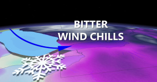 Ontario: Arctic air will bring 'wicked wind chills' and snow squalls
