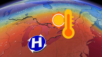Ontario starts the highly anticipated temperature climb Monday