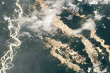 'Rivers of gold' spotted from space
