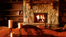 Fireplaces don't actually warm your home — they do the opposite