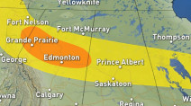 Prairies: Storm risk, and even rare snow, to close out the week