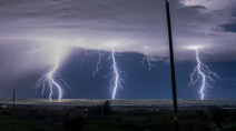 PHOTOS: Thunderstorms light up the night sky in Alberta