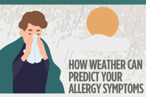 How weather can predict your allergy symptoms