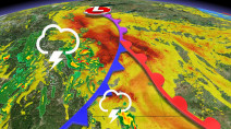 Severe storm threat will ramp up on western Prairies Thursday
