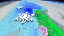 Warmth set to give way to heavy spring snowstorm for eastern Prairies