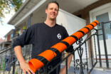 How a Toronto plumber is making Halloween safer — by installing 'Candy Chutes'