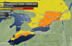 Ontario: Next storm threat as heat builds ahead of long weekend