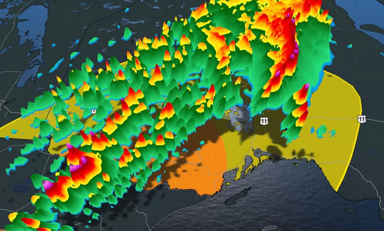 Severe thunderstorm threat spreads into northwestern Ontario for Thursday