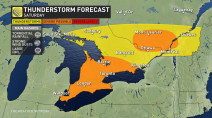 Ontario: Severe storms loom for Saturday amid extreme heat