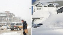 Unlikely Canadian city crushing above average snowfall in January