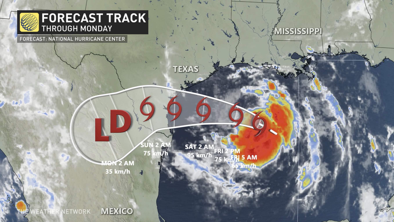 Trinidad storm warning in effect for Trinidad
