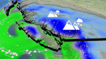 B.C.: Elevated avalanche risk as next low will bring rain, strong winds, snow