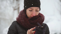 Here's why your phone shuts down in the cold
