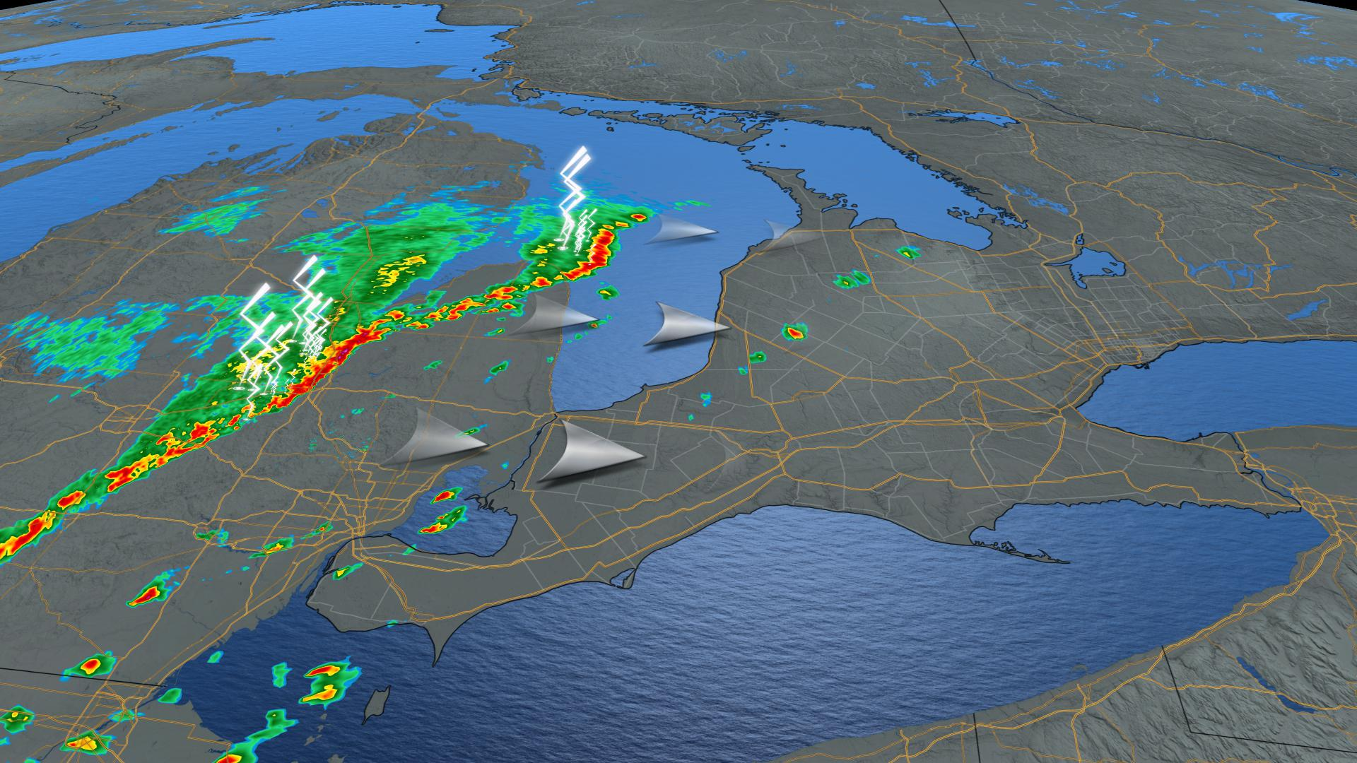 Tornado watches and warnings end after severe storms roll through Ontario