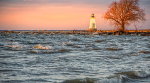 Lake Ontario peaking, still high and hazardous