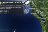 3 earthquakes detected within minutes off B.C. coast