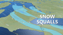 Ontario: Snow squalls stream in as temperatures drop below seasonal