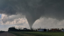 PHOTOS: Intense thunderstorms produce Saskatchewan's first tornado of the year