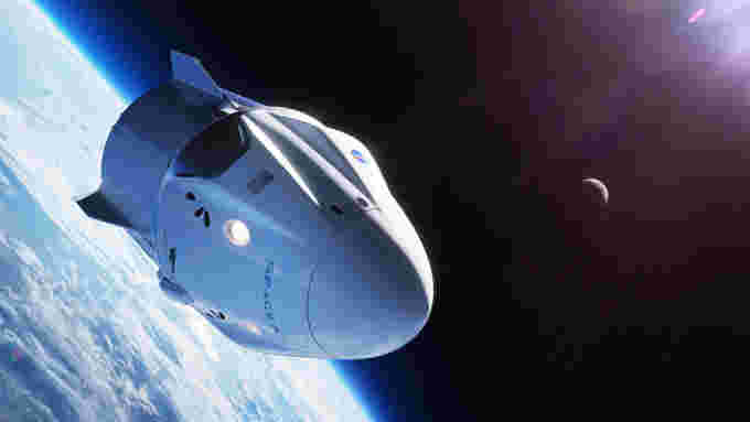 Crew-Dragon-DM-1-in-orbit-SpaceX-teaser