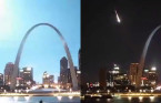 Blazing fireball turns night to day over St. Louis Monday night