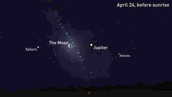 Jupiter-Moon-Saturn-Conjunction-April23-25