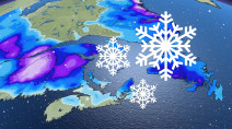 Atlantic: Potent late-week storm to bring heavy snow, possible 100 km/h winds