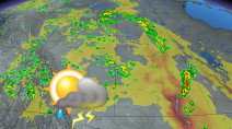 Tornado warning ended in Alberta, risk of severe weather continues