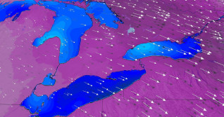 Ontario: Record January-like cold, bitter wind chill descends
