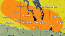 Prairies: Another round of storm risk for Thursday