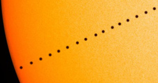 Witness a rare event this Fall as Mercury transits across the face of the Sun