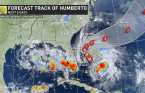 Humberto expected to become a hurricane, but will be less powerful than Dorian