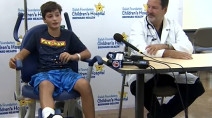 Canadian boy bitten by shark while vacationing in Florida