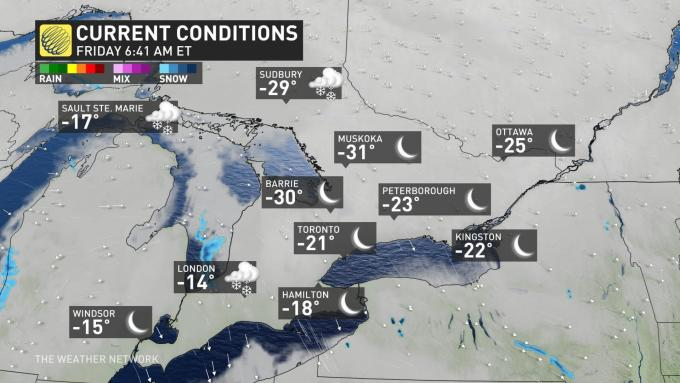 Conditions OntarioSouth1 Current