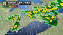 Ontario: Chance of thunderstorms, showers as late-season warmth moves in