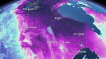 Prairies: Coldest air of the season floods in straight from Siberia