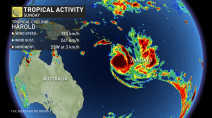 Powerful Category 3 Cyclone Harold on track to hit Vanuatu, targets Fiji