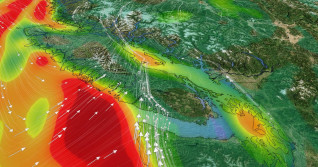 Pacific storm unleashing powerful winds, rain, alpine snow on B.C.