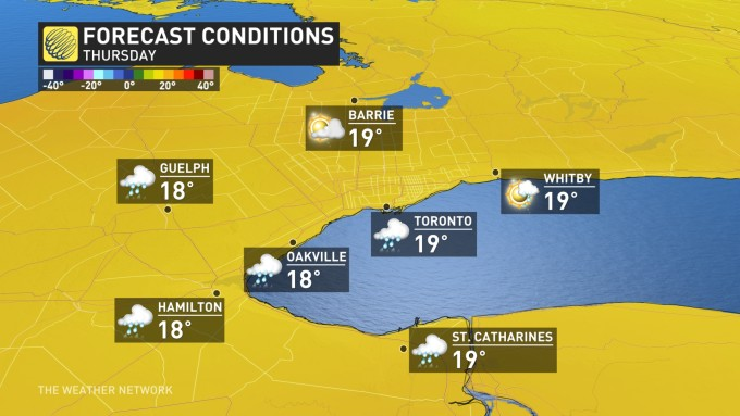 The Weather Network - Your Weather First: The Golden Horseshoe