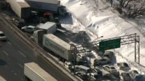 Estimated 60 people injured in multi-vehicle pileup in Montreal