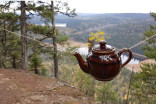 Teapots left by hikers on B.C. mountain is making it a 'dump', says volunteer